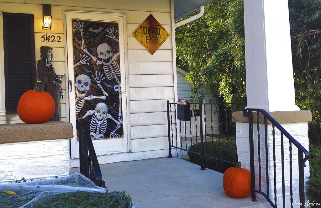 La nostra modesta decoració de Halloween a casa nostra