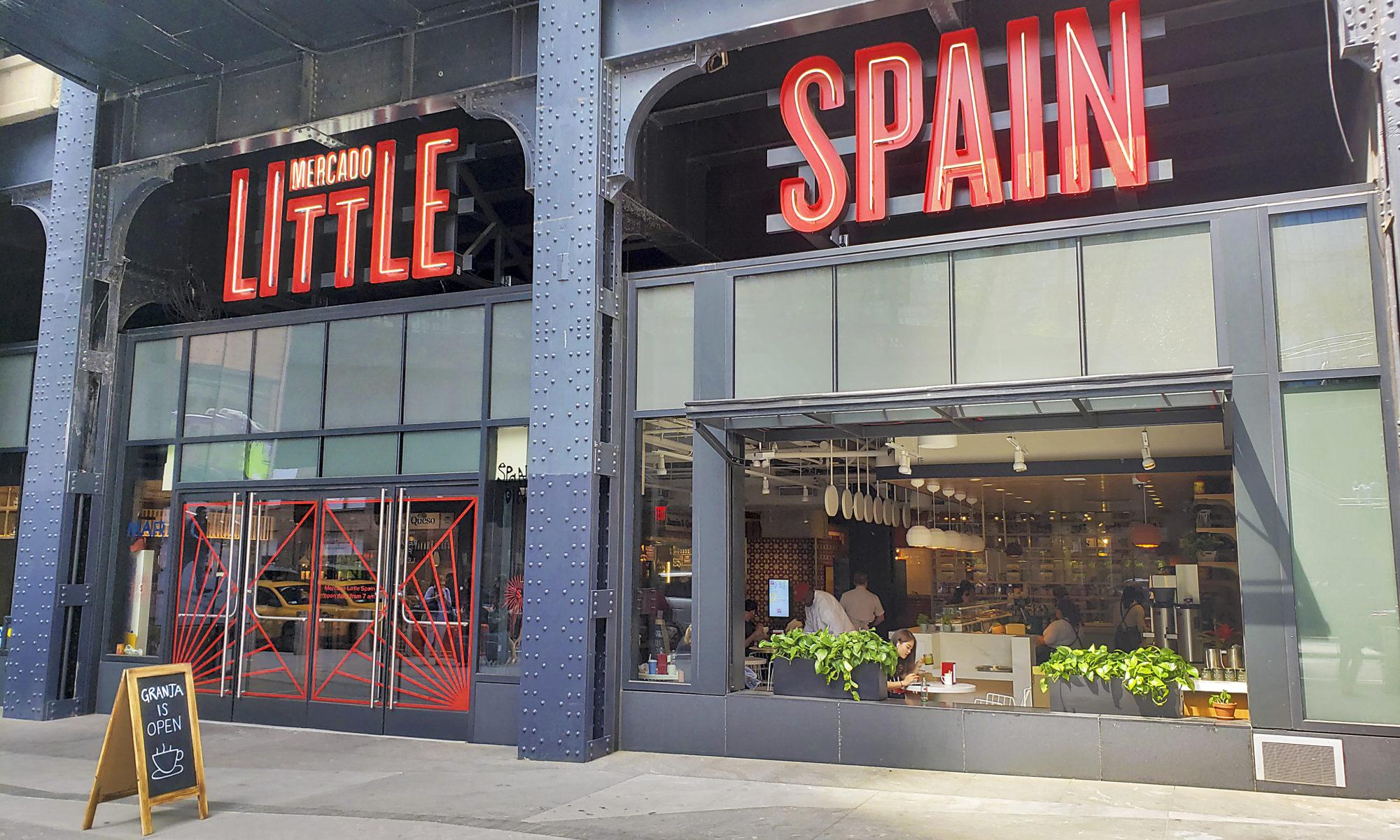 Entrance to Mercado Little Spain on 30th street