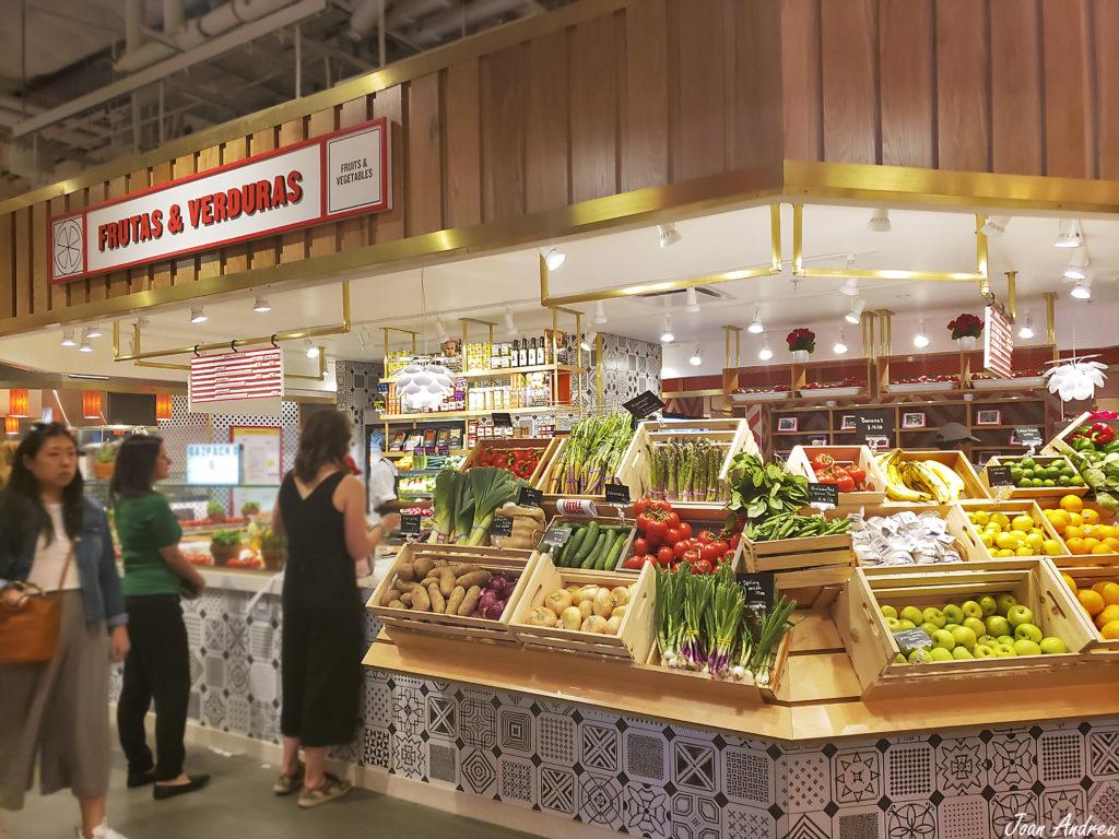 Fruits & Vegetables kiosk Mercado Little Spain
