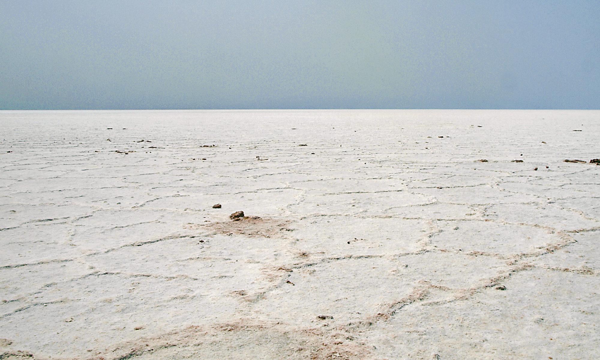 Badwater basin el mar de sal / The pool of salt