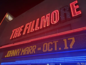Johnny Marr at The Fillmore
