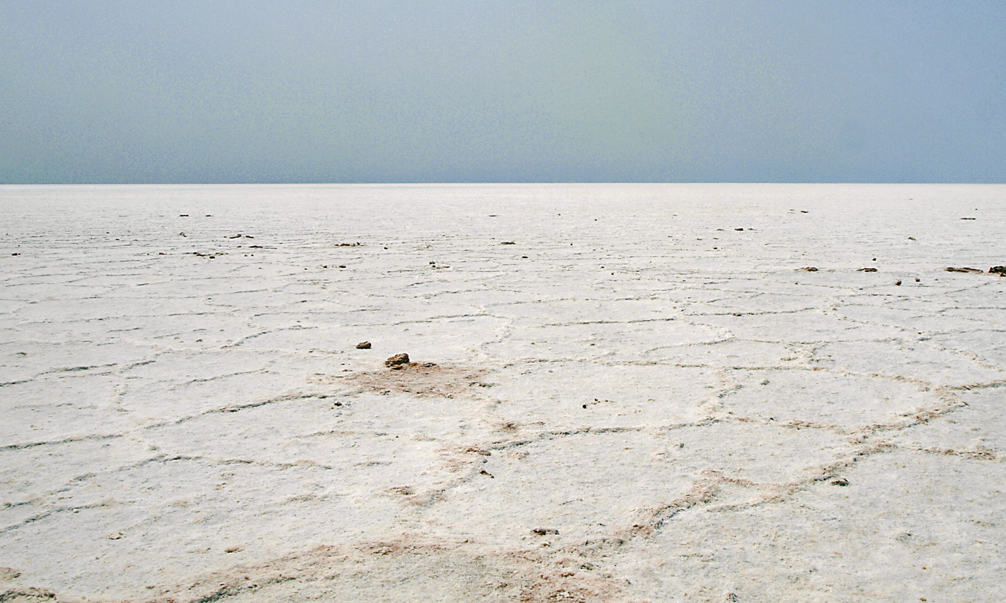 Badwater basin el mar de sal / The pool of salt